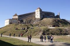 Rasnov citadel - RAW format Royalty Free Stock Image