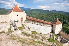 Rasnov citadel, near Brasov, Romania Stock Photos