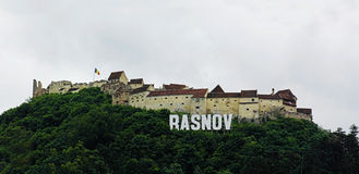 Rasnov Citadel in Romania. Royalty Free Stock Image
