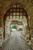 Rasnov Citadel in Romania stock image