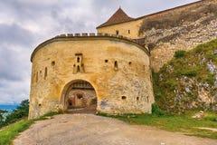 Rasnov Citadel in Romania Stock Images