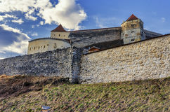 Rasnov Citadel, Romania Royalty Free Stock Photo