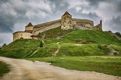 Rasnov Citadel in Romania royalty free stock images
