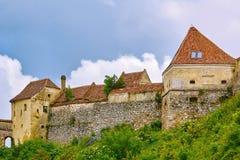 Rasnov Citadel in Romania royalty free stock image
