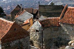 Rasnov citadel, Transylvania, Romania Royalty Free Stock Photos