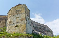 Rasnov citadel VI Royalty Free Stock Photography