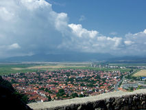 Rasnov city Stock Images