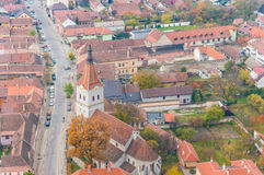 Rasnov city Stock Image