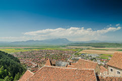Rasnov City Royalty Free Stock Photography