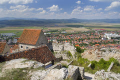 Rasnov city Royalty Free Stock Images