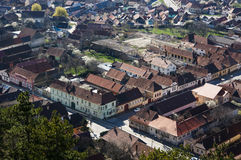 Rasnov city Stock Photos