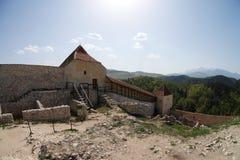Rasnov cytadela, Brasov okręg administracyjny, Rumunia Fotografia Stock