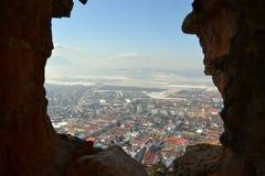Rasnov fästning Arkivfoto