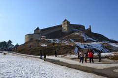 Rasnov fästning Royaltyfri Bild