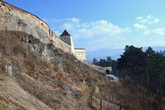 Rasnov fästning Royaltyfria Bilder