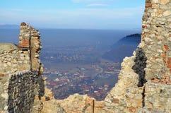 Rasnov fästning Arkivfoton