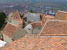 Rasnov Festung Lizenzfreie Stockbilder
