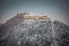 Rasnov Festung Lizenzfreie Stockfotos