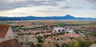 Rasnov Festung in Rumänien Lizenzfreie Stockbilder