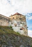 Rasnov Festung in Rumänien stockfotografie