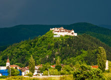 Rasnov - fortress royalty free stock photos