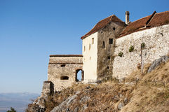 Rasnov fortress. Peasant medieval fortress of rasnov Royalty Free Stock Photography