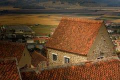 Rasnov Fortress, Brasov Romania Stock Photography