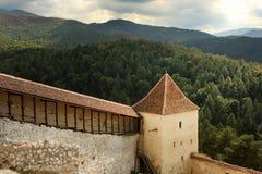 Rasnov Fortress, Brasov Romania Royalty Free Stock Photography