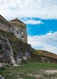 Rasnov Fortress in Brasov county, Romania royalty free stock photography