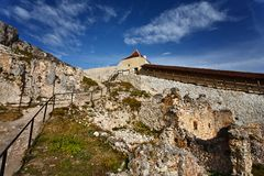 Free Rasnov Fortress In Romania Stock Image - 16886821