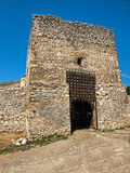 Rasnov fortress - main gate Stock Images