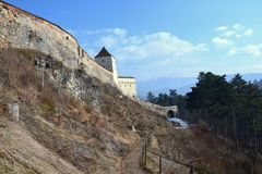 Rasnov Fortress Royalty Free Stock Images