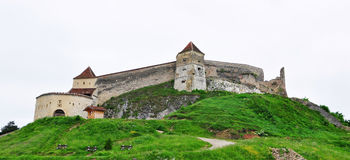 Rasnov fortress panorama Royalty Free Stock Images