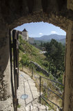 Rasnov fortress, Romania Royalty Free Stock Image