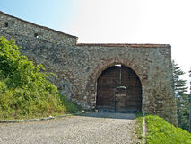 Rasnov fortress - second gate Stock Image