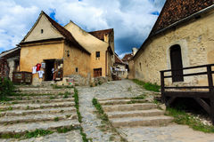 Rasnov Fortress. Situated near Brasov city, a tourist attraction Stock Photography