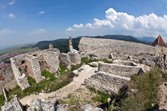 Rasnov fortress, Transylvania Royalty Free Stock Photography