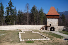 Rasnov fortress, Transylvania Stock Photography