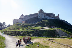 Rasnov fortress, Transylvania Royalty Free Stock Images