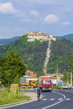 Rasnov fortress, Transylvania Romania Royalty Free Stock Photo