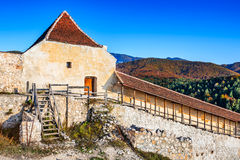 Rasnov Fortress, Transylvania, Romania Royalty Free Stock Images