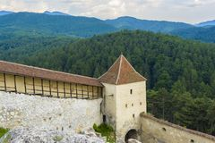 Rasnov fortress Stock Photography