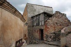 rasnov średniowieczny miasteczko Zdjęcia Royalty Free