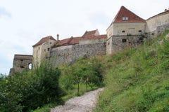 rasnov średniowieczny miasteczko Fotografia Royalty Free