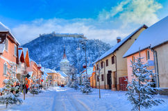Rasnov, Romania Royalty Free Stock Photos