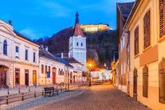 Rasnov, Rumänien stockfoto