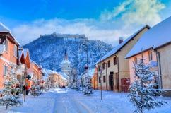 Rasnov, Rumania Fotos de archivo libres de regalías