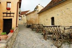 Rasnov Schloss stockbild