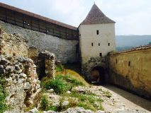 Rasnov Schloss lizenzfreies stockfoto