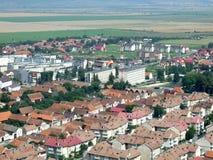 Rasnov Stadt lizenzfreie stockfotos